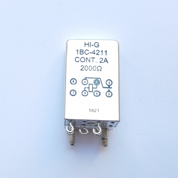 HI-G Inc. 02289-1bc-4211 Relay Armature NSN: 5945-01-068-0385